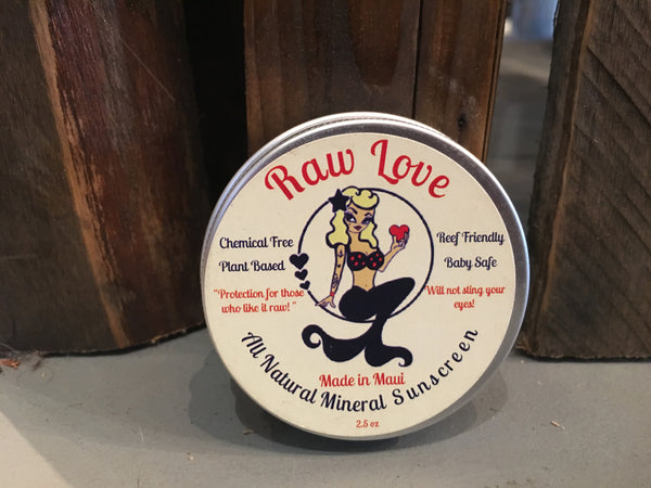 Raw Love All Natural Mineral Sunscreen