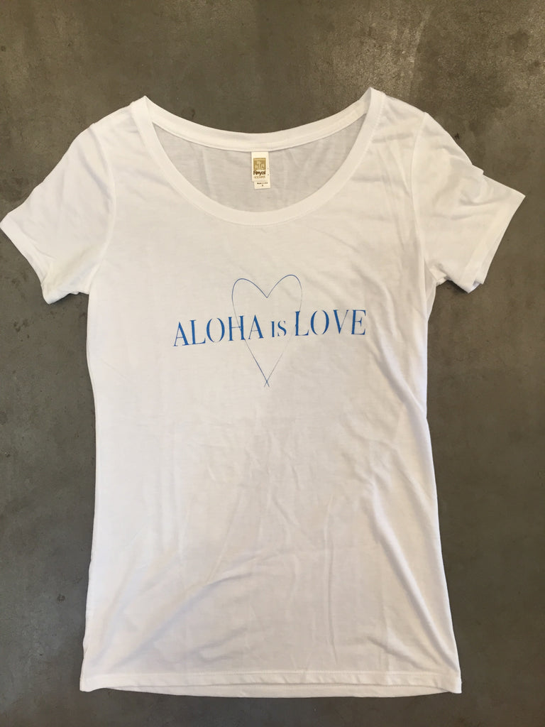 Aloha Is Love by Happy Waves Brand