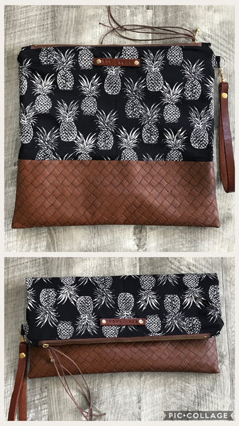 SOC Maui Pineapples Small and Medium Clutch
