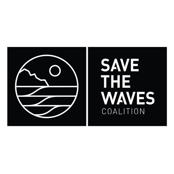 Save The Waves Coalition Logo Sticker