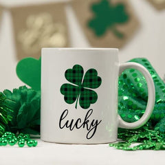 St patricks coffee mug