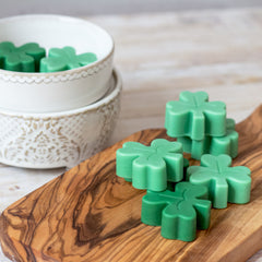 St. Patrick's Day Shamrock Scented Wax Melts