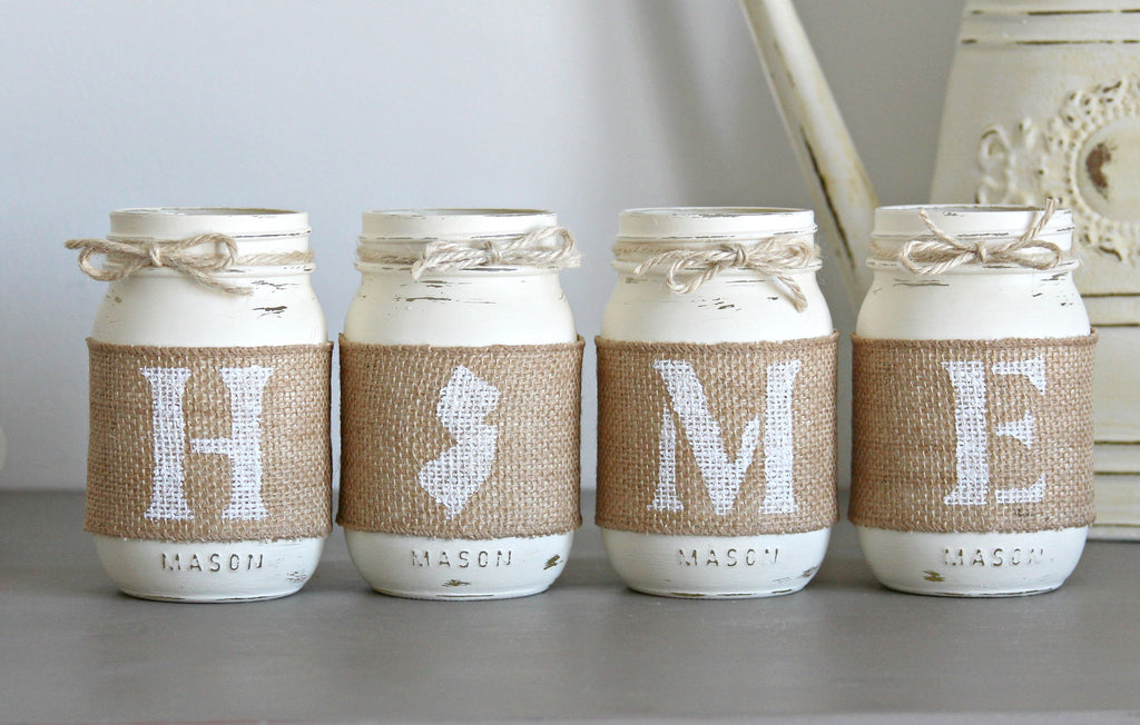Rustic State Home Decor, Rustic State Housewarming Gift - Jarful House