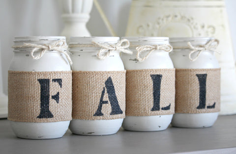 Linen Fall Thanksgiving Home Decor - Jarful House