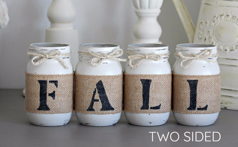 Linen Fall & Thanksgiving Home Decor - Jarful House