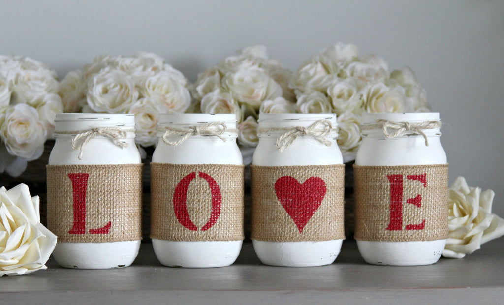 Valentine S Day Rustic Home Decorations Jarful House