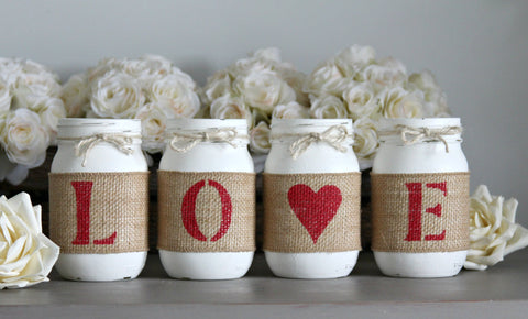 Rustic Romantic Home Decor Gift Idea - Jarful House