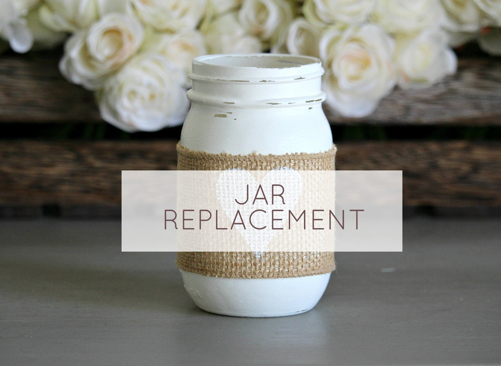 Table Decor Jar Replacement - Jarful House