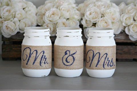 Rustic Bridal Shower Decor