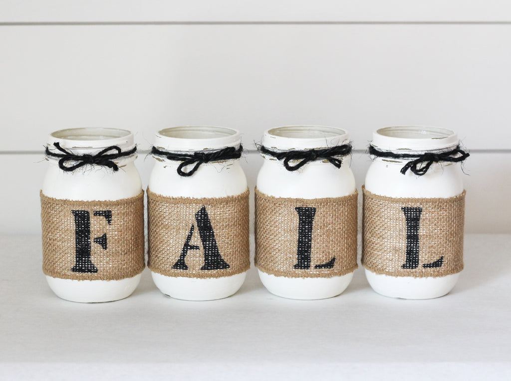 Fall Table Centerpiece | Fall Home Decor - Two Sided - Jarful House