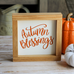 Trick Or Treat Y'all  Halloween Sign | Halloween Home Decor - Sign 7x7 - Jarful House