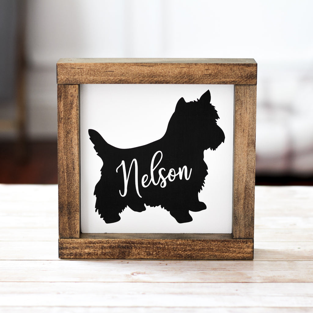 West Highlander White Terrier Decor - Personalized Westies Dog Lover Wall Sign - Jarful House