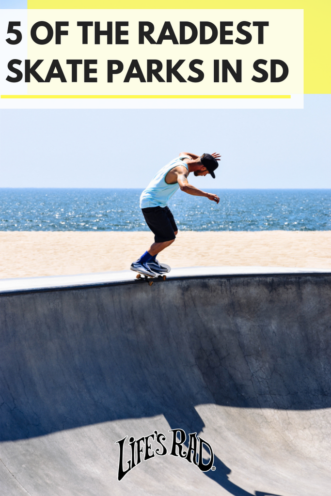 5 of The Raddest Skate Parks in SD