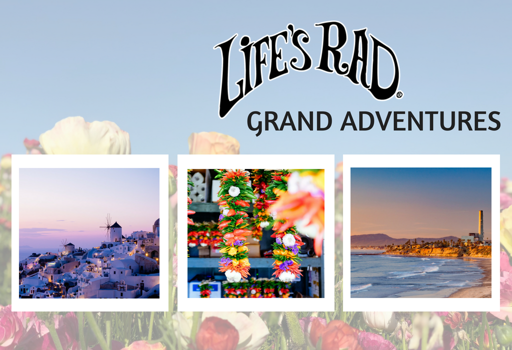 Heading on a Grand Adventure - Life's Rad Style!