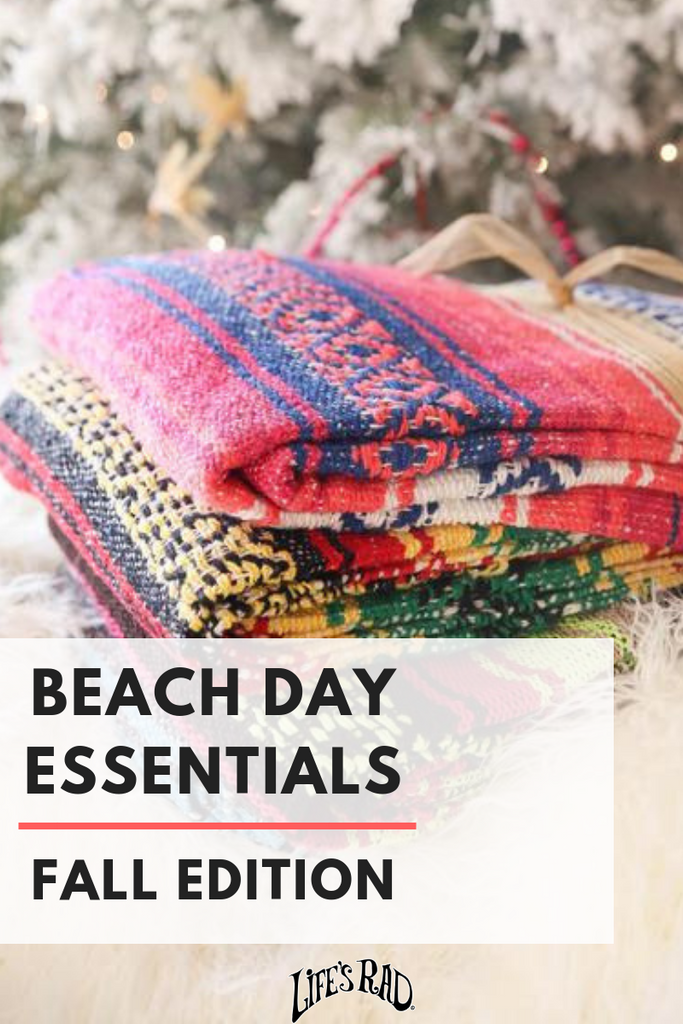 Beach Day Essentials: Fall Edition