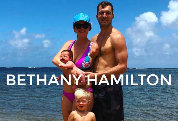 Mama Crush: Bethany Hamilton is a motivaitonal speaker, athlete, writer, and mother! The Life's Rad team loves watching her amazing achievements!