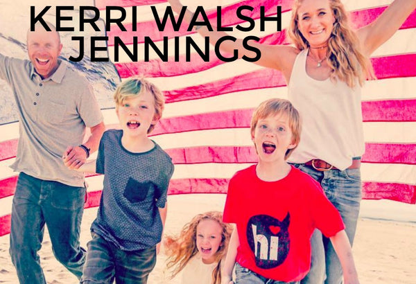 Mama Crush: Kerri Walsh Jennings is an incredible athlete and also a mother! The Life's Rad team loves watching her amazing achievements!