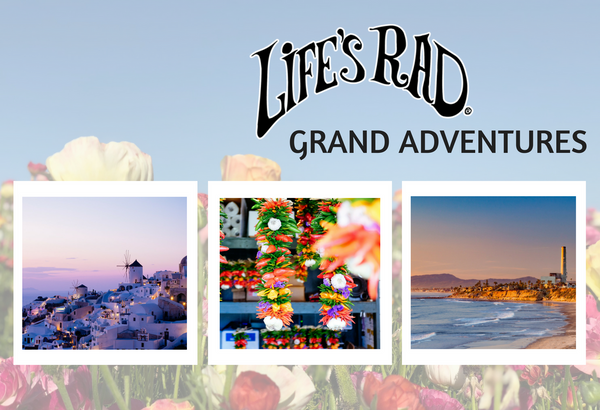 Life's Rad has put together a great series of adventures for those who love to travel the world!