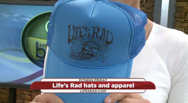 Colorado's Best on Colorado's Own Channel 2 features Life's Rad hats!