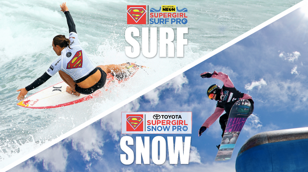 Hit the swells at the Supergirl Pro with Life's Rad gear!