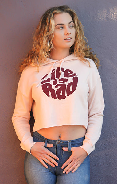 Crop Retro Hoody
