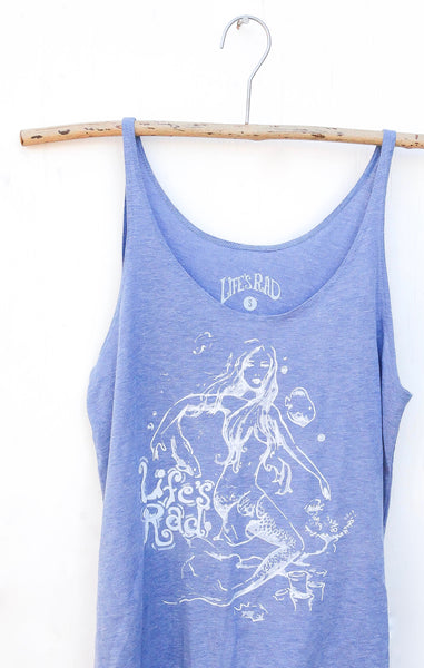 Mermaid Flowy Tank