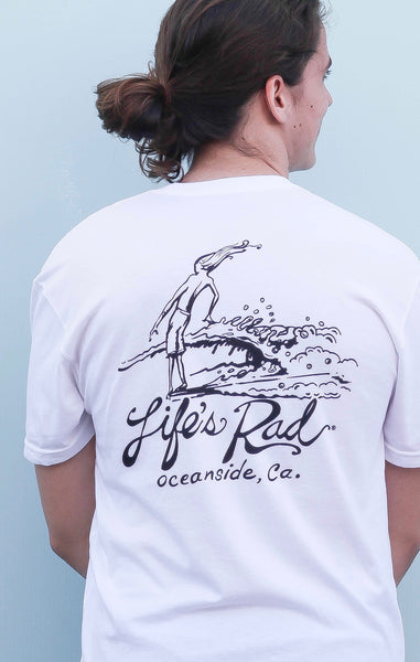 Life's Rad Oceanside Nose Rider
