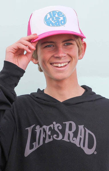 Life is Rad Retro Logo Trucker Hat