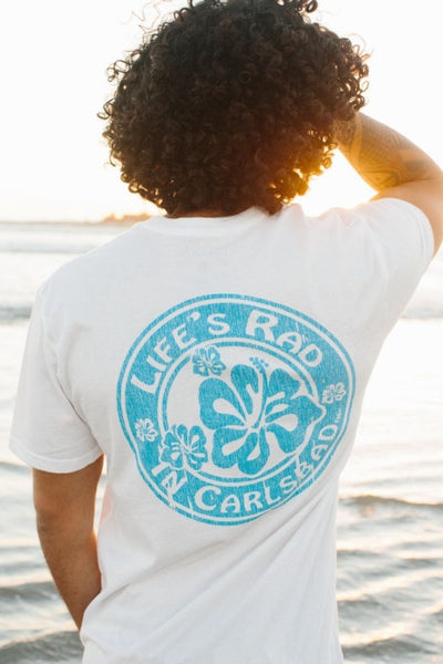 Life's Rad in Carlsbad™ Hibiscus Tee