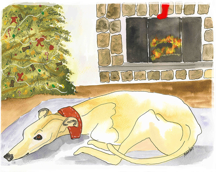 HELP YOUR GREYHOUND HAVE HAPPY HOLIDAYS