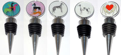 Greyhound Bottle Stoppers
