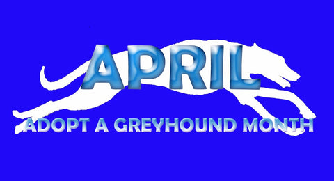 April of Adopt a Greyhound Month