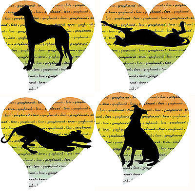 Greyhound Love Note Cards Whippet Galgo Dog Series II