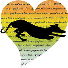 Load image into Gallery viewer, Greyhound Love Note Cards Whippet Galgo Dog Series II