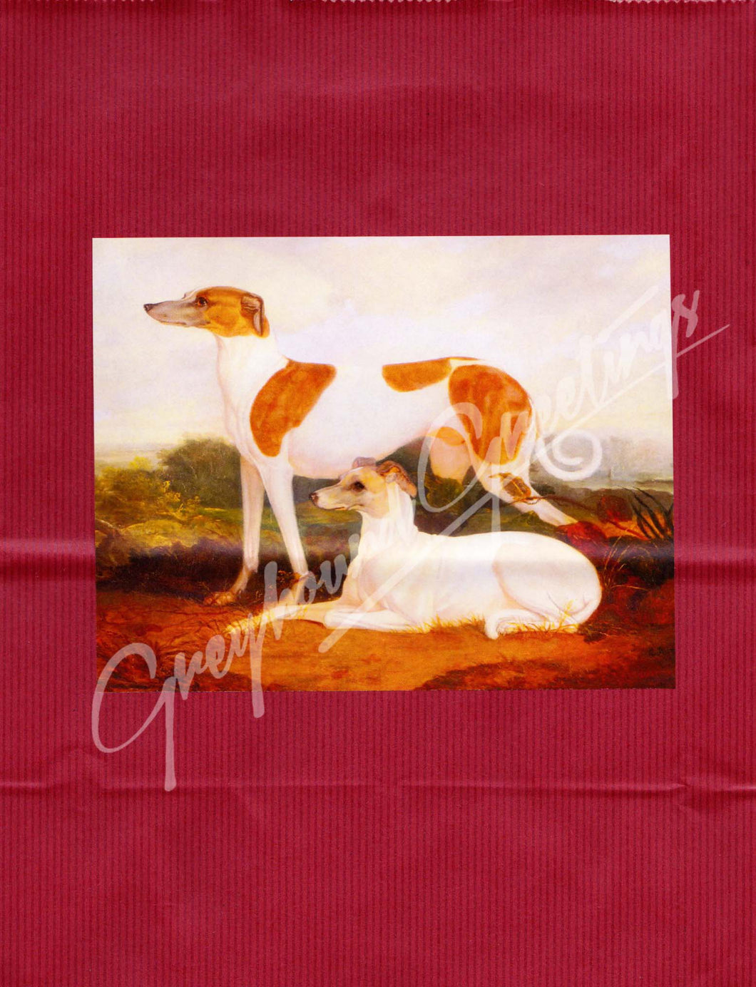 Greyhound Gift Wrap Bag