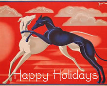 Load image into Gallery viewer, Greyhound Christmas Cards