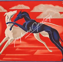 Load image into Gallery viewer, Greyhound Art Tile