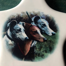 Load image into Gallery viewer, Porcelain Greyhound Ornament