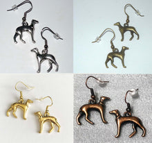 Load image into Gallery viewer, Greyhound Earrings Four Colors