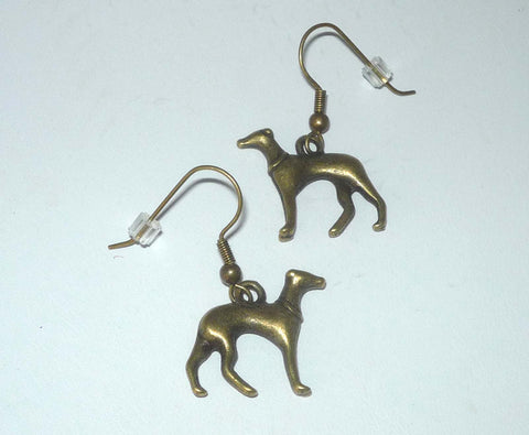 Greyhound Earrings Four Colors