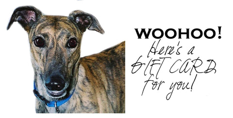 Greyhound Greetings Gift Card