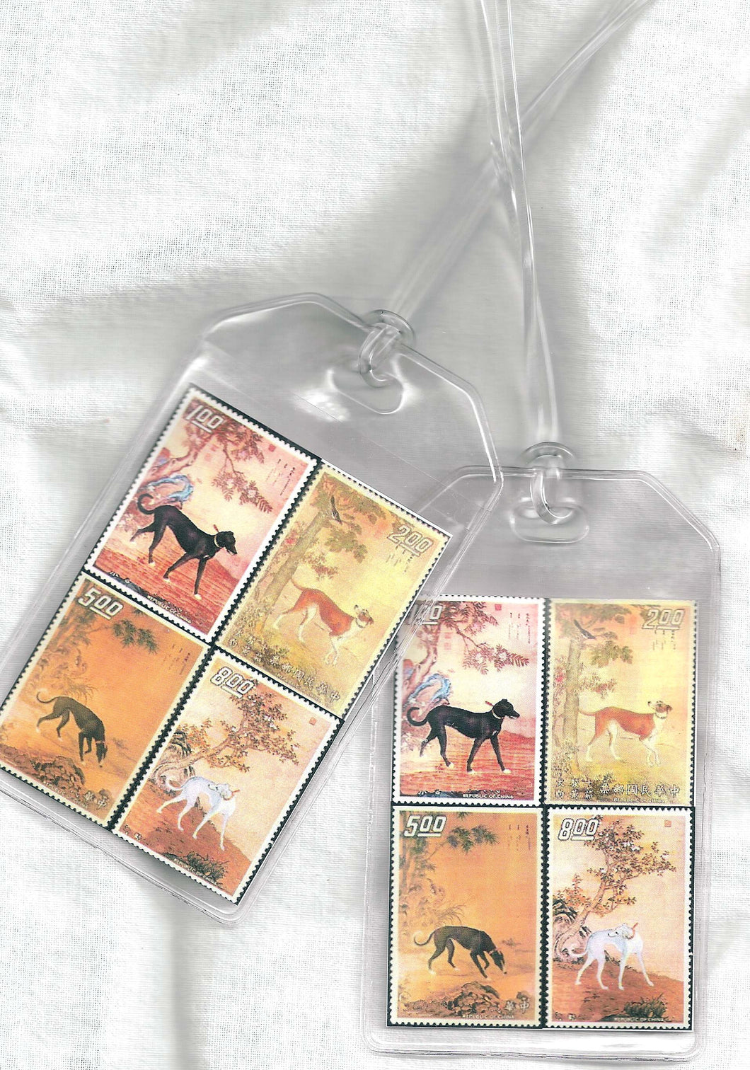 Greyhound Postage Luggage Tags