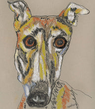 Load image into Gallery viewer, Greyhound Art Notecard Set