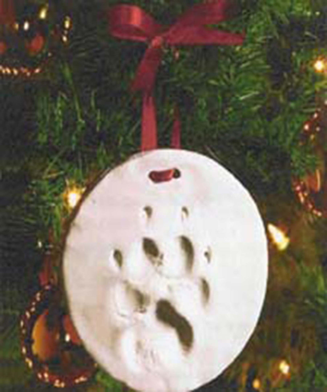 Pawprint Ornament Kit - remember a beloved pet - safe and non-toxic BOGO