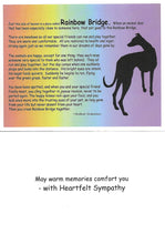 Load image into Gallery viewer, Greyhound Sympathy Card Assortment