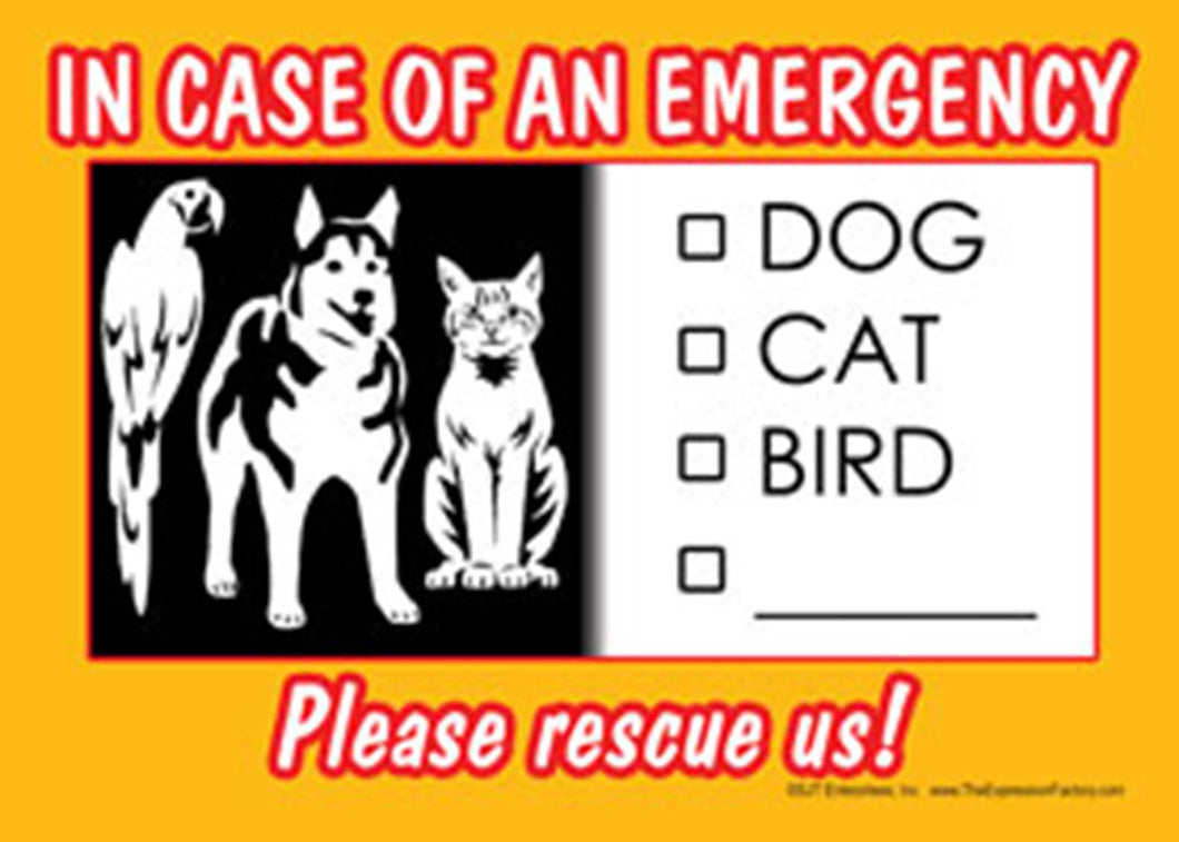 Pet Rescue Sign