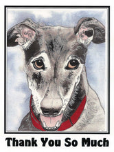 Load image into Gallery viewer, Greyhound Thank You Cards Assortment