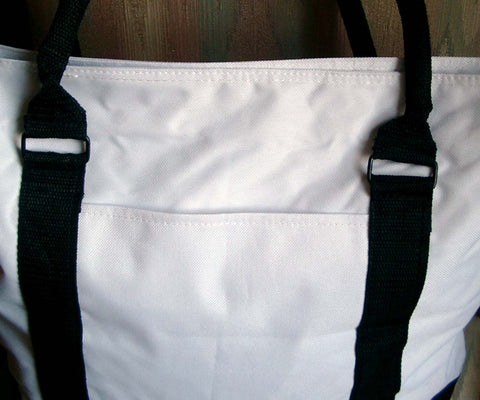 Greyhound Zipper Tote Bag