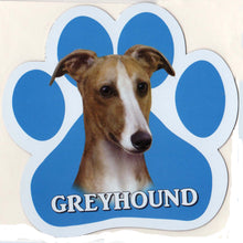 Load image into Gallery viewer, Greyhound Car Magnet