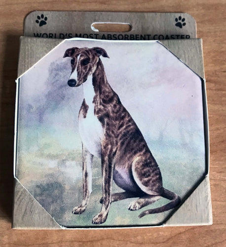 Stone Greyhound Coaster